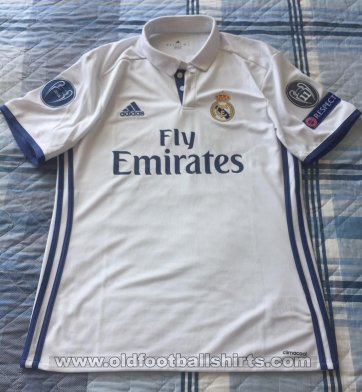 Real Madrid Home football shirt 2016 - 2017