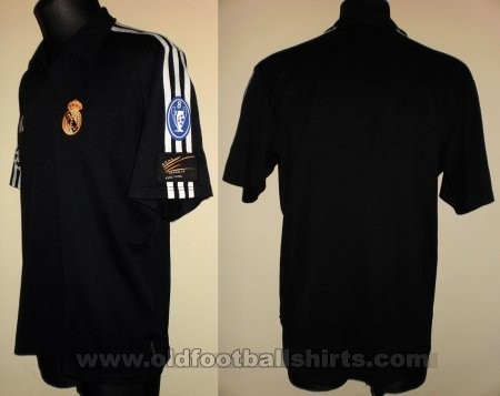 Real Madrid Away baju bolasepak 2001 - 2002