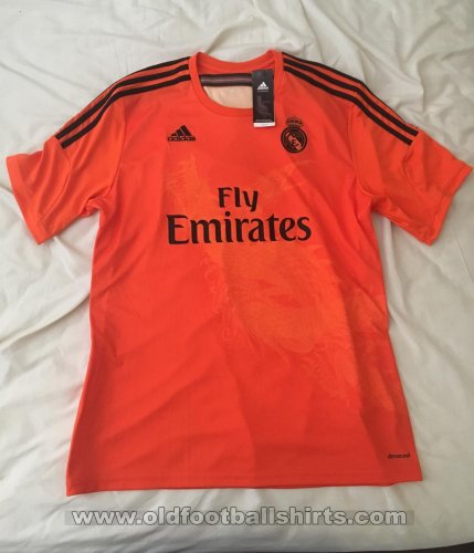 Real Madrid Goalkeeper football shirt 2014 - 2015