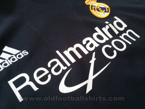 Real Madrid Away football shirt 2001 - 2002