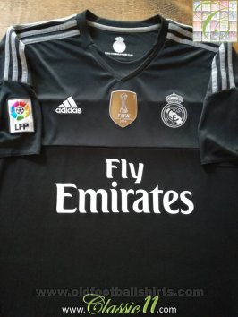 Real Madrid Goalkeeper football shirt 2015 - 2016