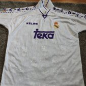 Real Madrid Thuis  voetbalshirt  1996 - 1997