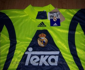 Real Madrid Goalkeeper football shirt 1998 - 1999