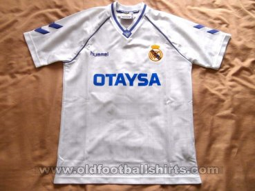 Real Madrid Home football shirt 1990 - 1992