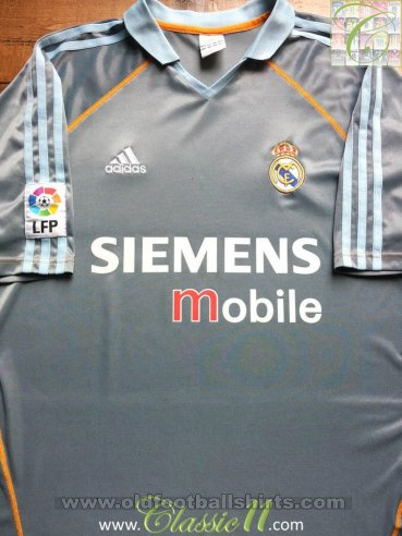 Real Madrid Third football shirt 2003 - 2004