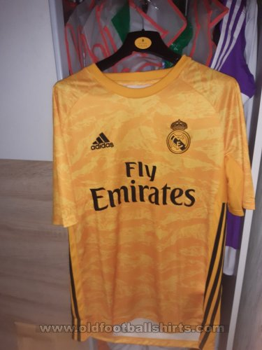 Real Madrid Goalkeeper football shirt 2019 - 2020