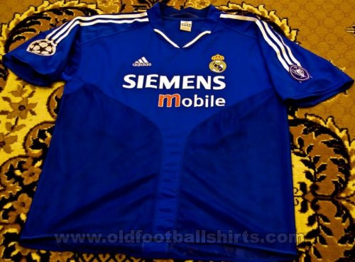 Real Madrid Third football shirt 2004 - 2005