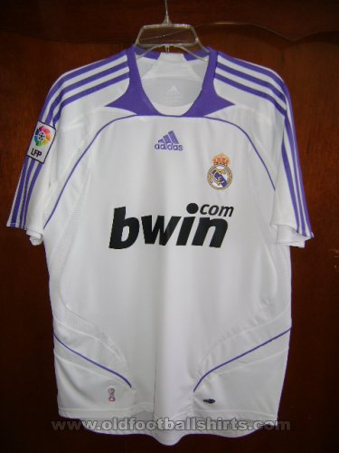 Real Madrid Home football shirt 2007 - 2008