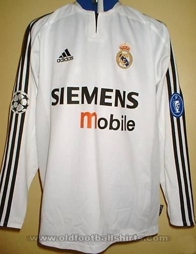 Real Madrid Cup Shirt football shirt 2004