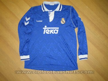 Real Madrid Away baju bolasepak 1992 - 1993