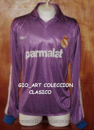 Real Madrid Third football shirt 1989 - 1990