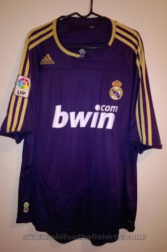 Real Madrid Away football shirt 2007 - 2008