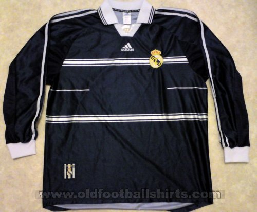 Real Madrid Away baju bolasepak 1998 - 1999