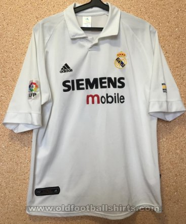 Real Madrid Home football shirt 2002 - 2003