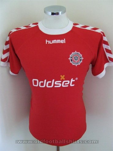FC Ostjylland Home Fußball-Trikots (unknown year)