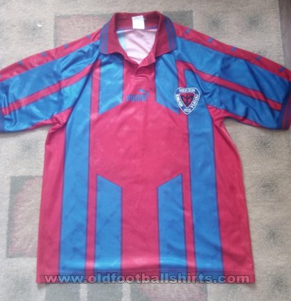 Mersin Idmanyurdu Home football shirt 2000 - 2001