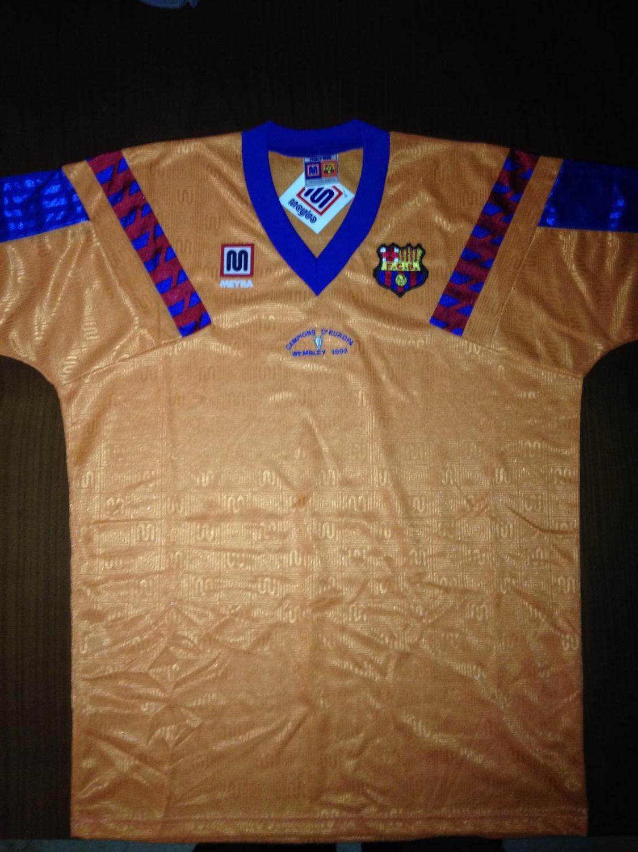 Barcelona Away football shirt 1989 - 1992.