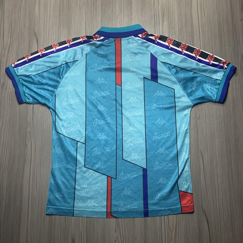 hot sales 65b60 b0134 Barcelona Away football shirt 1995 - 1997.