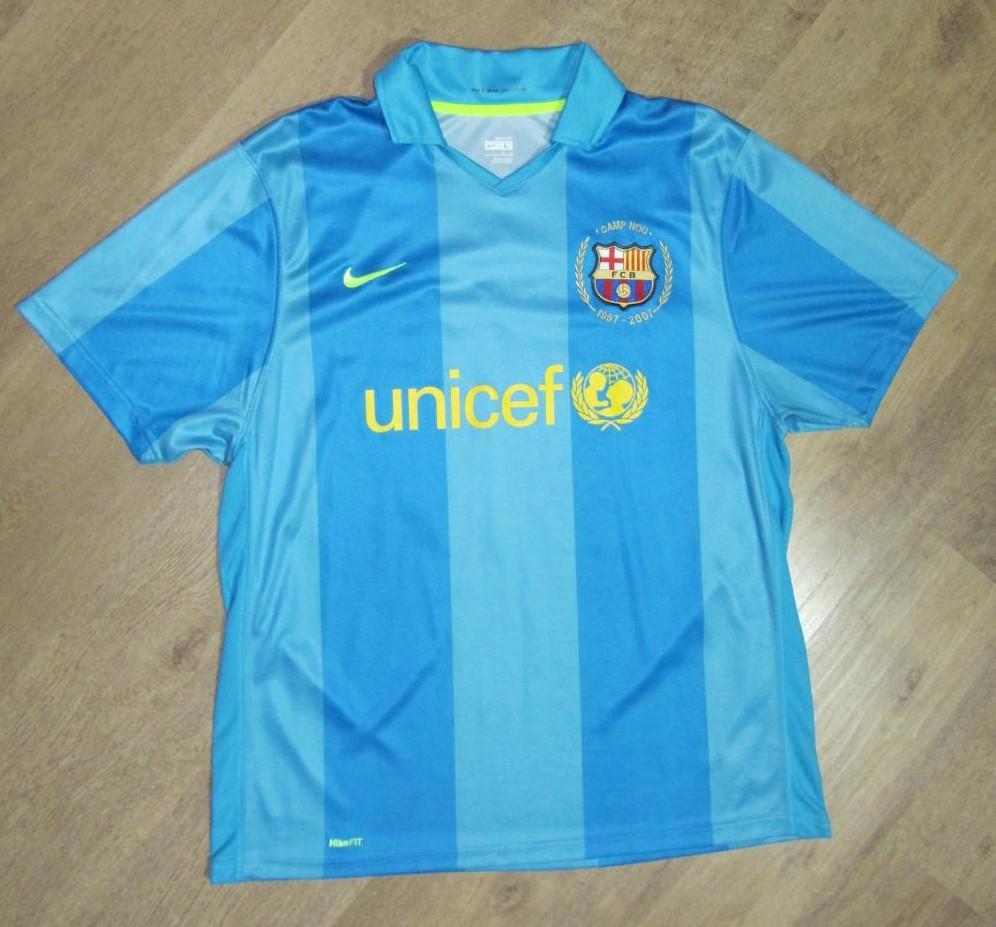 Barcelona Away football shirt 2007 - 2008