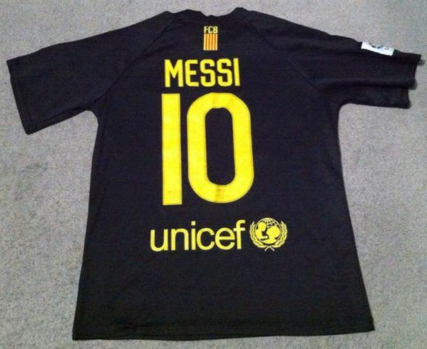 Barcelona Away football shirt 2011 - 2012. Sponsored by Qatar Foundation 8eb256174
