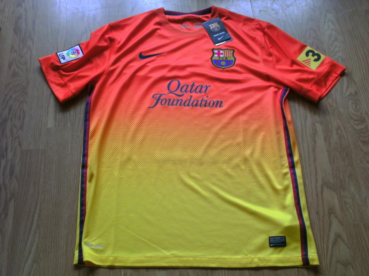 6cf13a74a31 Barcelona Away Maillot de foot 2012 - 2013.