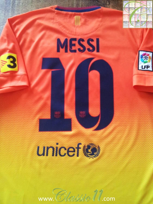 e98705dbbe7 Barcelona Away camisa de futebol 2012 - 2013.