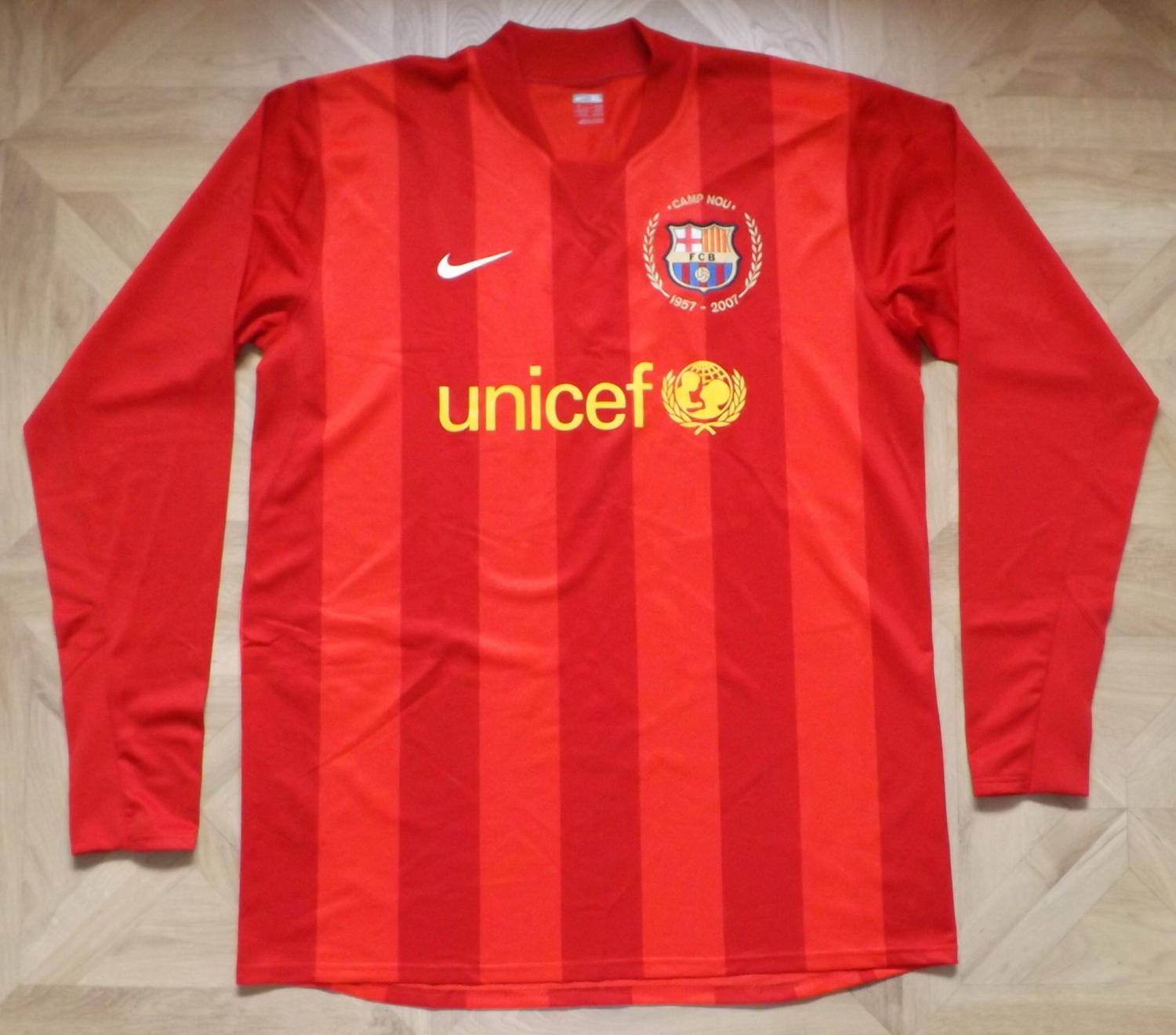 cheap for discount 8ac8b 17f0c Barcelona Goalkeeper football shirt 2007 - 2008.