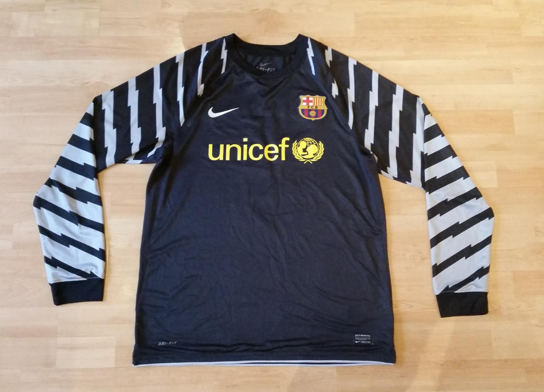 ae2ceb5c9b3 Barcelona Goalkeeper camisa de futebol 2010 - 2011.