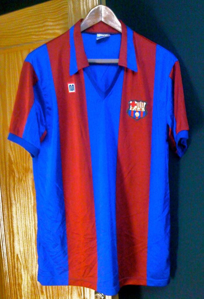 c121004bd Barcelona Home football shirt 1981 - 1982.