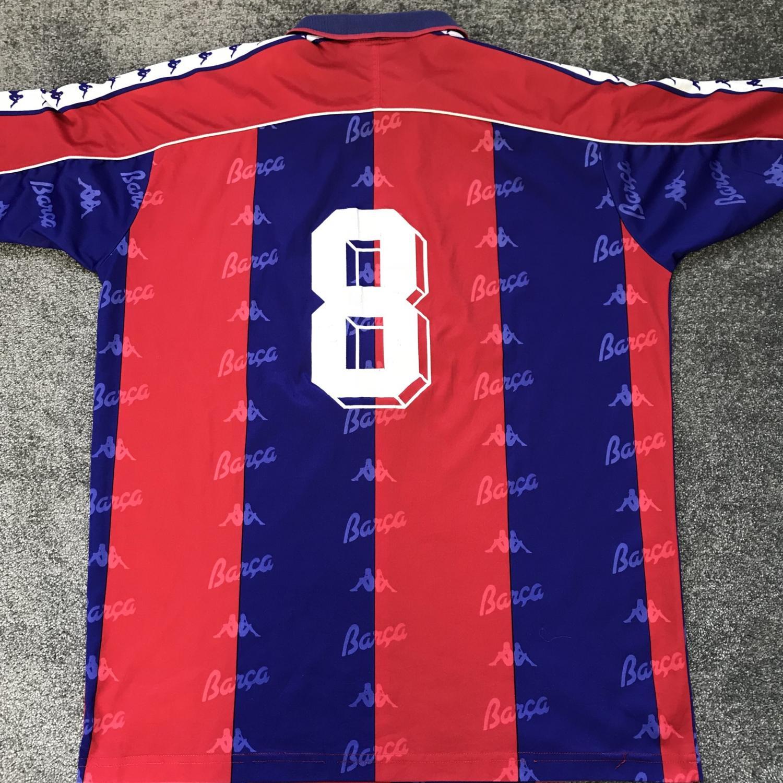 Barcelona Home maglia di calcio 1992 - 1995.