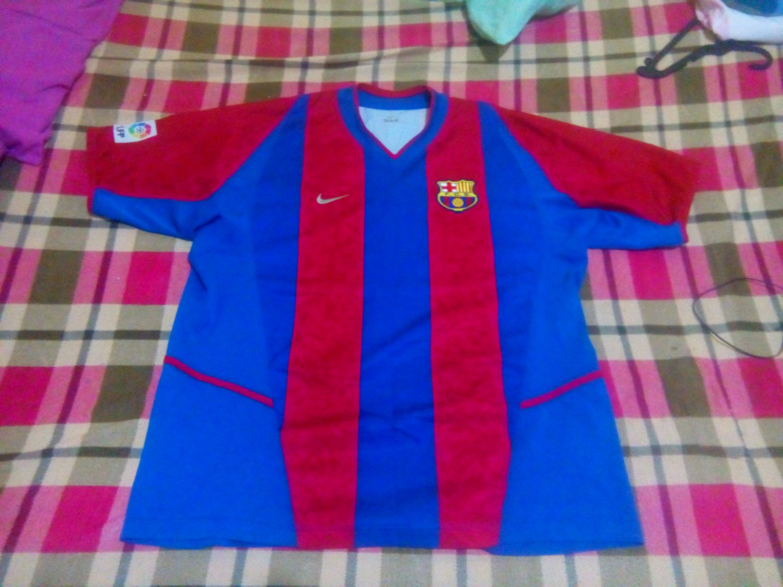 c21c473cc Barcelona Home football shirt 2002 - 2003.