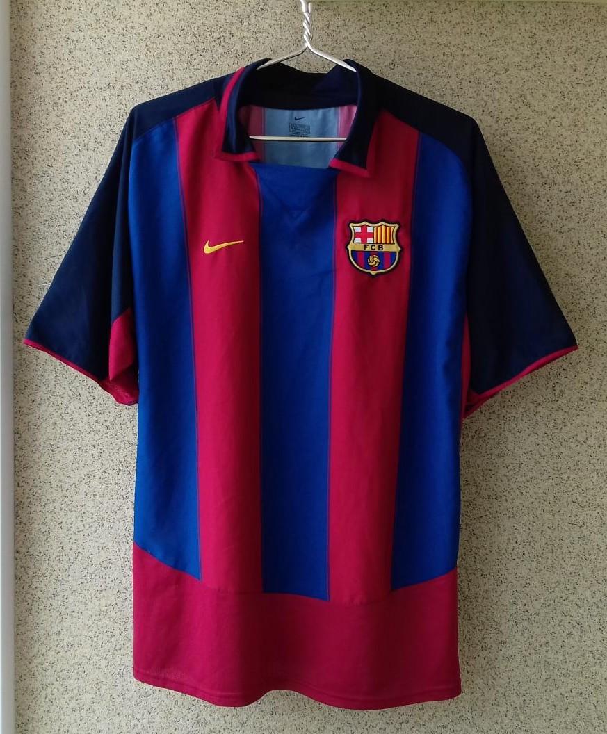 abd09b60c Barcelona Home camisa de futebol 2003 - 2004.