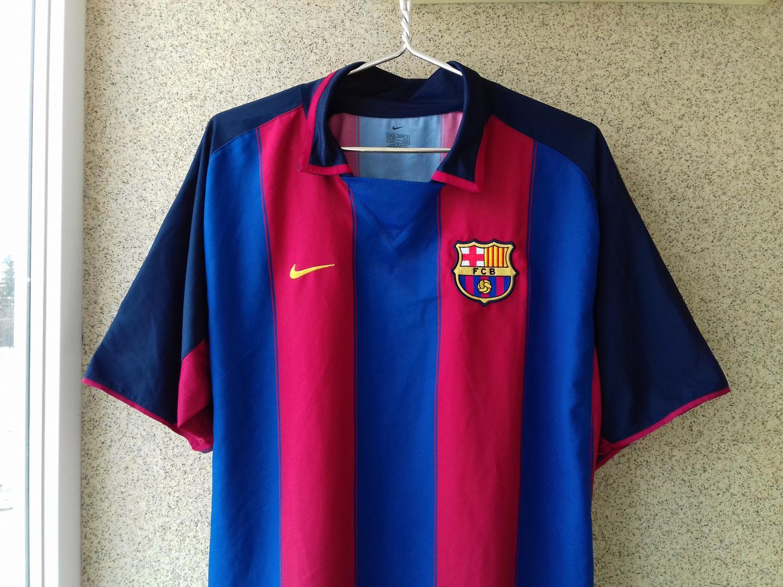 low priced 24ad9 ff8c4 Barcelona Home football shirt 2003 - 2004.