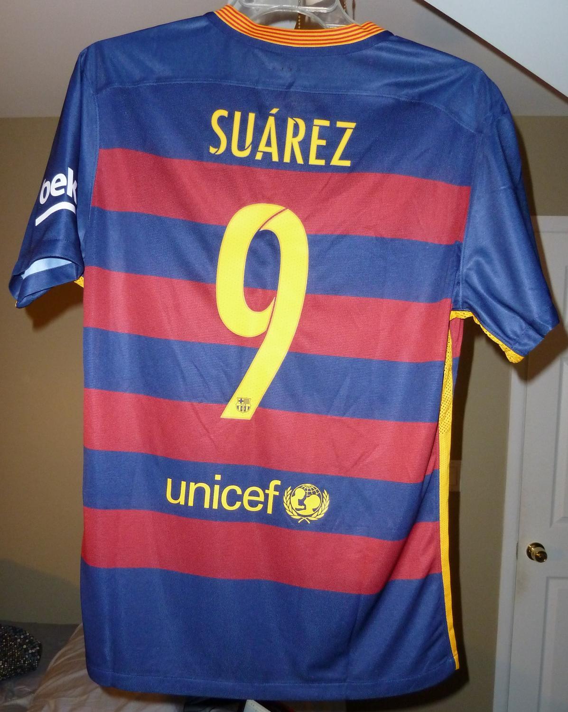 febbee062e1 Barcelona Home maglia di calcio 2015 - 2016.