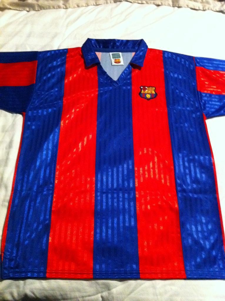 Barcelona Repliche Retro maglia di calcio 1991 - 1992.