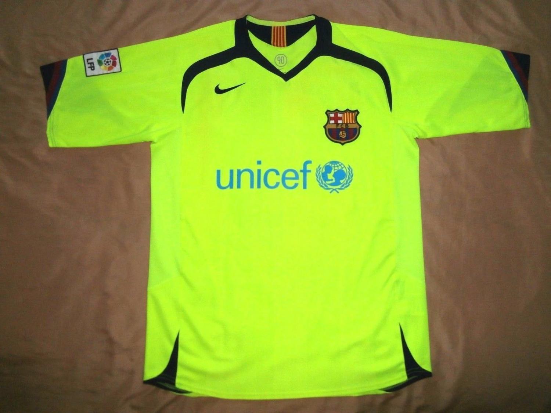 946346d6804 Barcelona Third Maillot de foot 2006 - 2007.