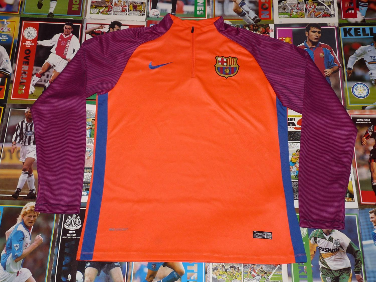 d389683a8e6 Barcelona Training/Leisure football shirt 2016 - ?.