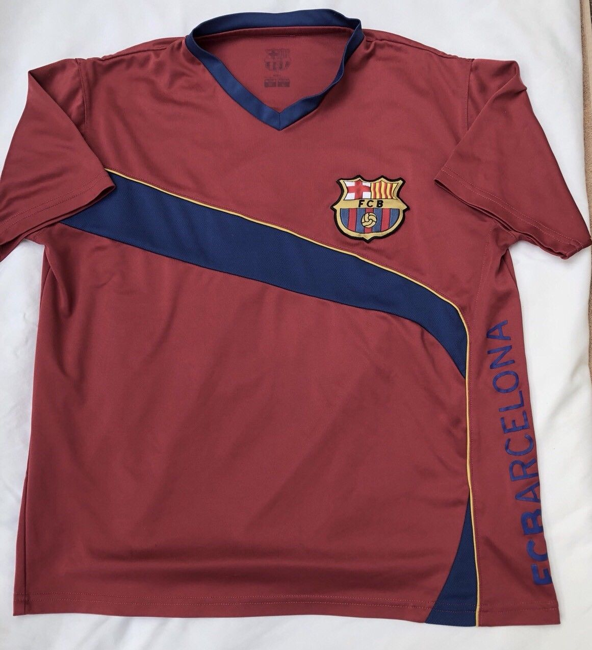 39c9a12f666 Barcelona Training/Leisure Maillot de foot (unknown year).