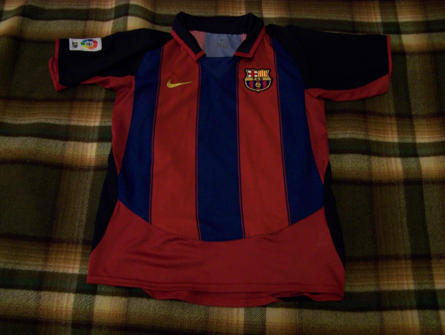 f2c685c674f2 Barcelona Home football shirt 2003 - 2004 ...