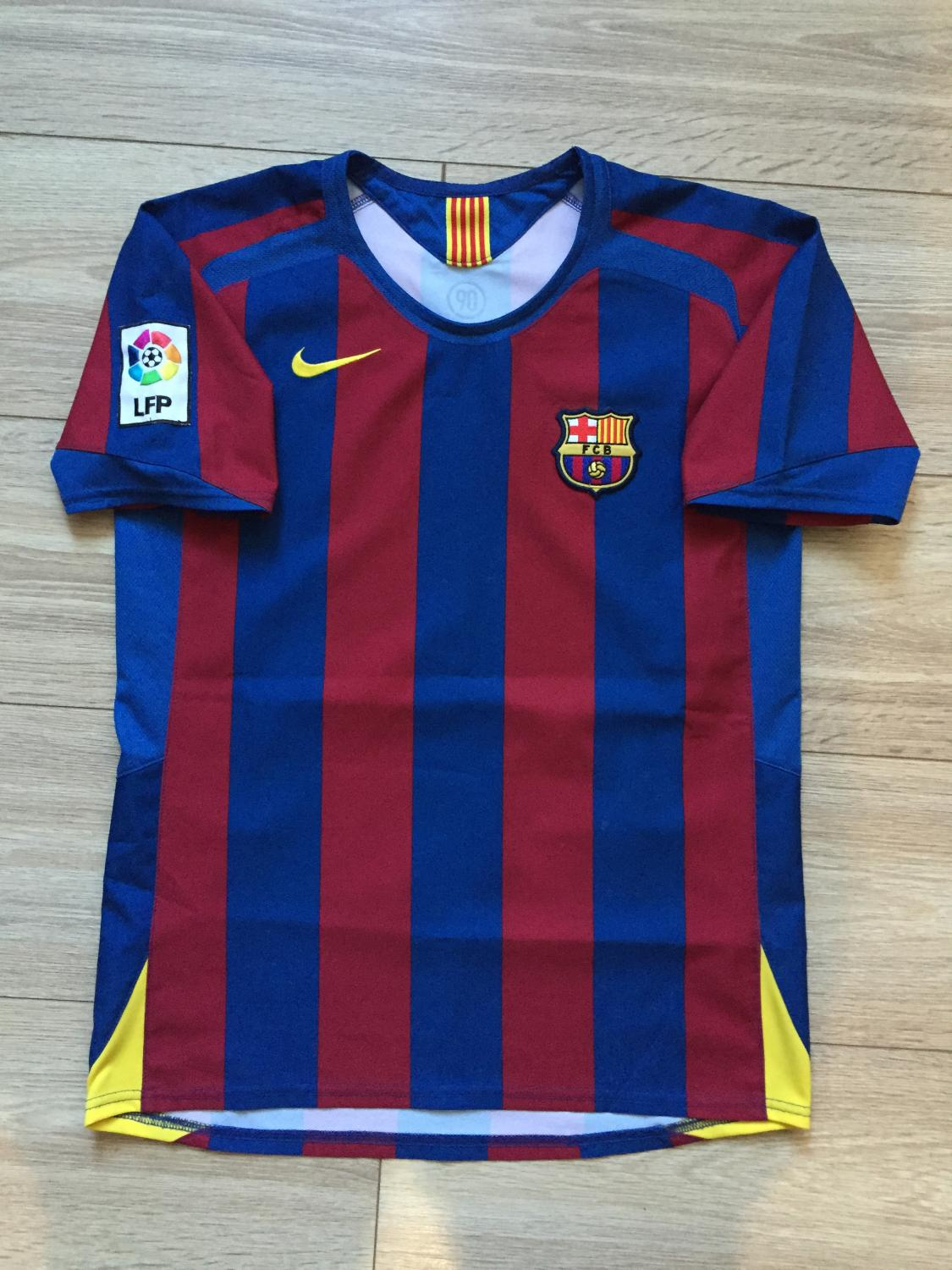 4a1eb652f65 Barcelona Home football shirt 2005 - 2006 ...