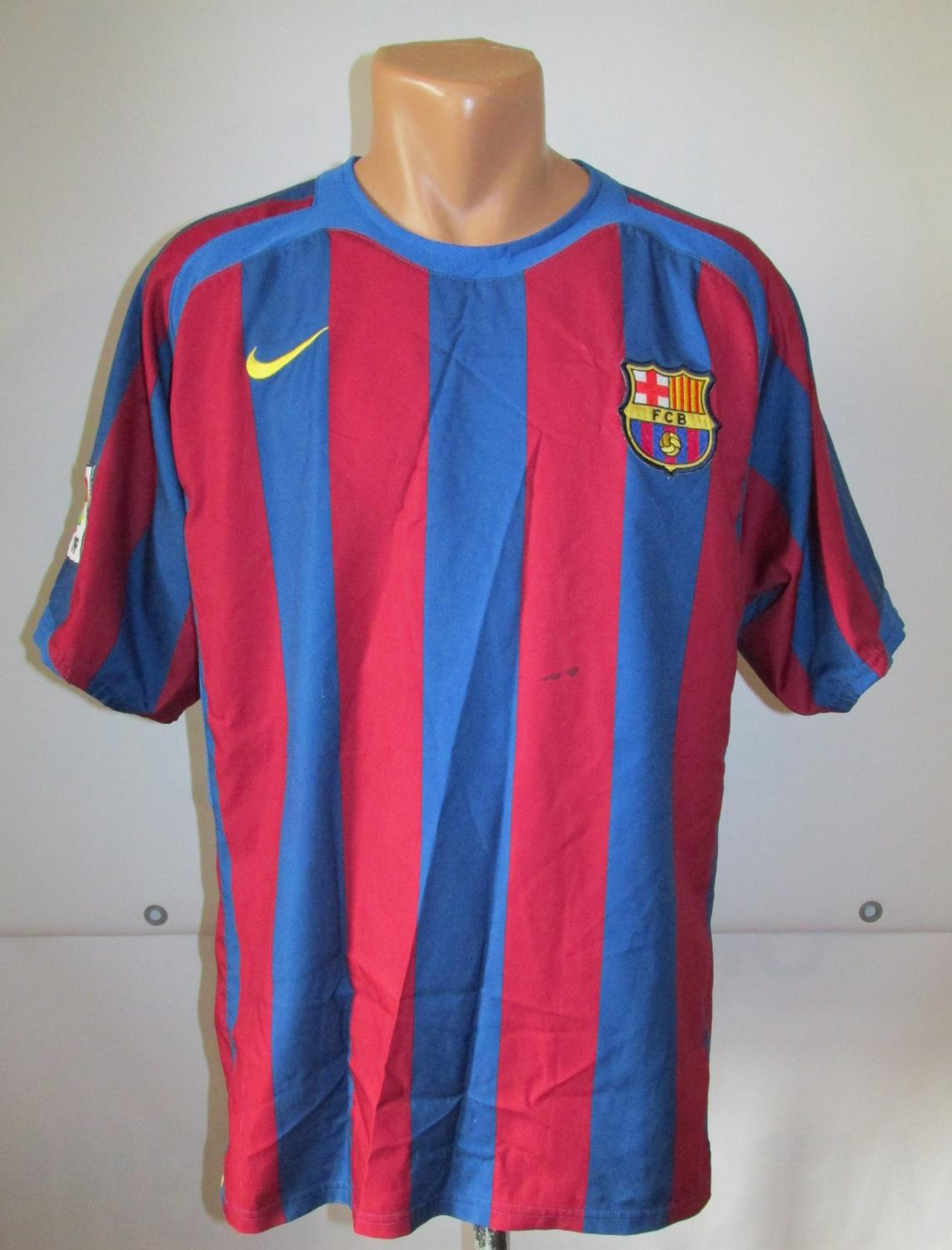 8eaa48671fc ... Barcelona Home football shirt 2005 - 2006