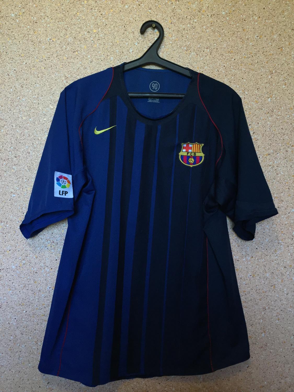 b11e7338c48 Barcelona Away football shirt 2004 - 2005 ...