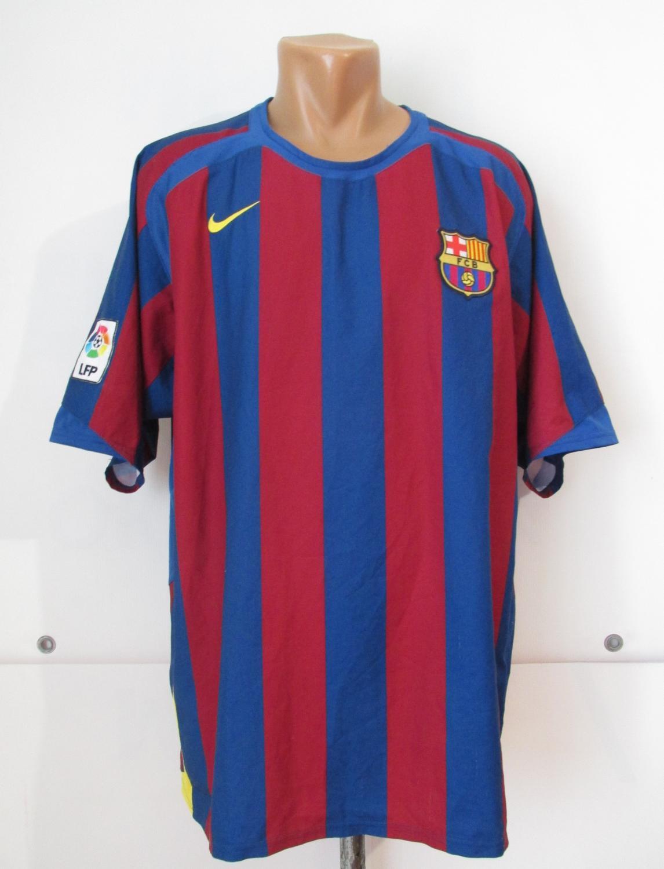 brand new 7255b 5b2e3 Barcelona Home camisa de futebol 2005 - 2006.
