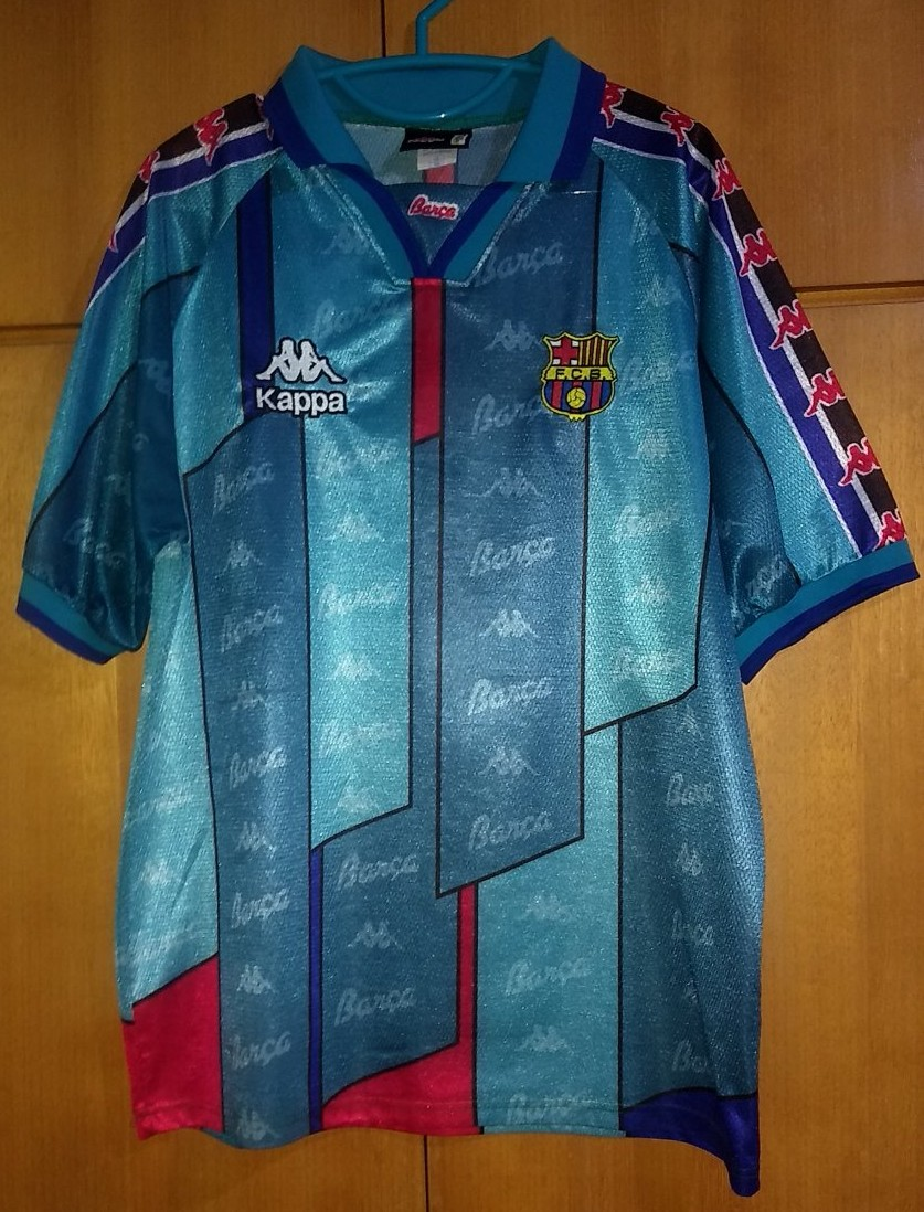 Barcelona Away football shirt 1995 - 1997.