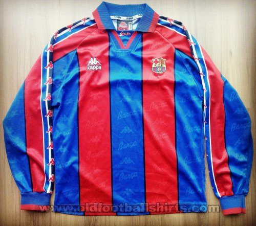 Barcelona Home football shirt 1995 - 1997