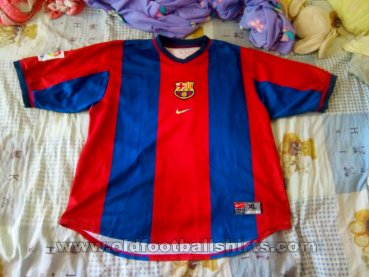 Barcelona Home football shirt 1998 - 1999