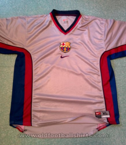 Barcelona Away football shirt 1998 - 2001