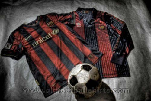 Barcelona Home football shirt 1991 - 2010