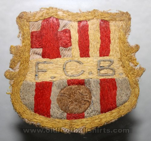 Barcelona Special football shirt 1943