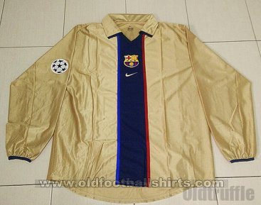 Barcelona Away football shirt 2001 - 2003